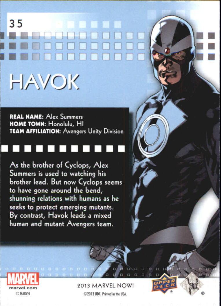 2014 Marvel Now #35 Havok - NM-MT