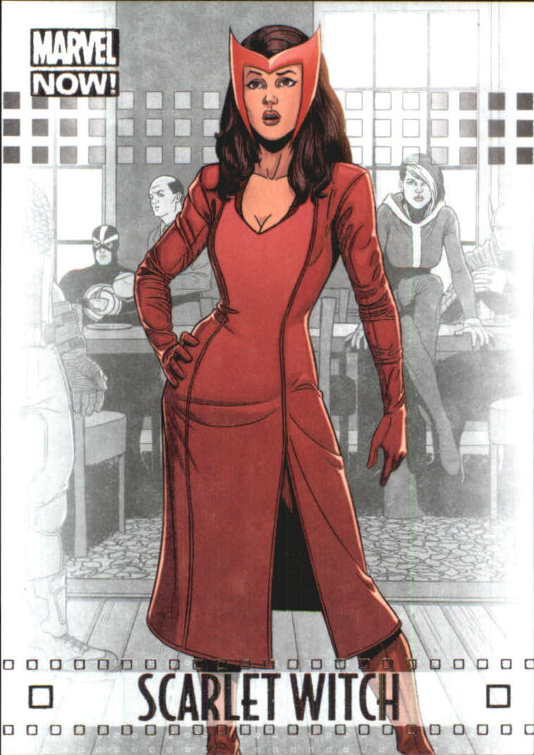 20 Marvel Now Silver 20 Scarlet Witch   NM MT