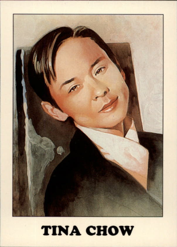 1993 AIDS Awareness #9 Tina Chow