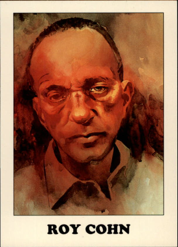 1993 AIDS Awareness #10 Roy Cohn