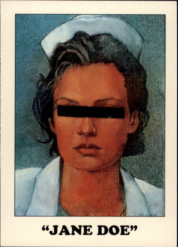 1993 AIDS Awareness #12 Jane Doe
