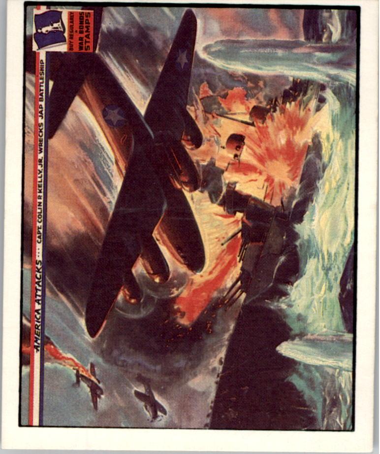 1983 America Attacks #1 Captain Colin P. Kelly Jr. Wrecks Japs Battleship
