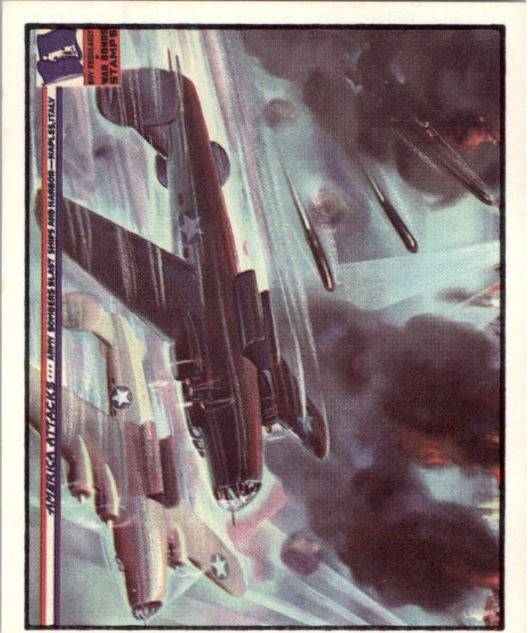 1983 America Attacks #9 Army Bombers Blast Ships and Harbor
