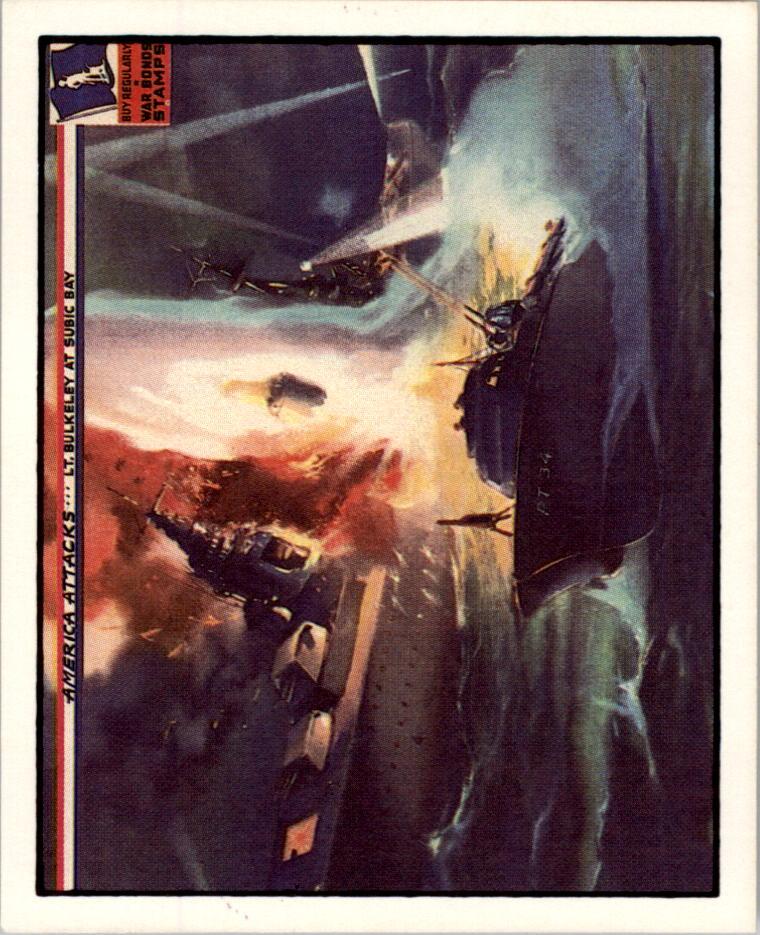 1983 America Attacks #13 Lt. Bulkeley at Subic Bay
