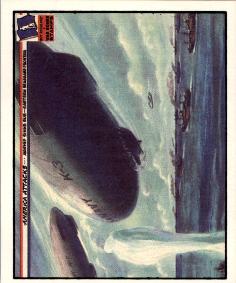 1983 America Attacks #19 Airships Sink Sub