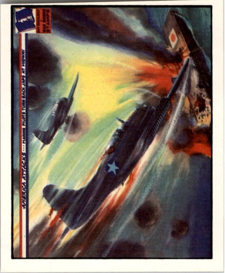 1983 America Attacks #22 Marine Pilots Turn Back Japs
