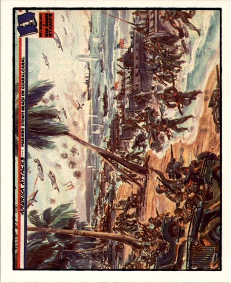 1983 America Attacks #23 Marines Storm Beach