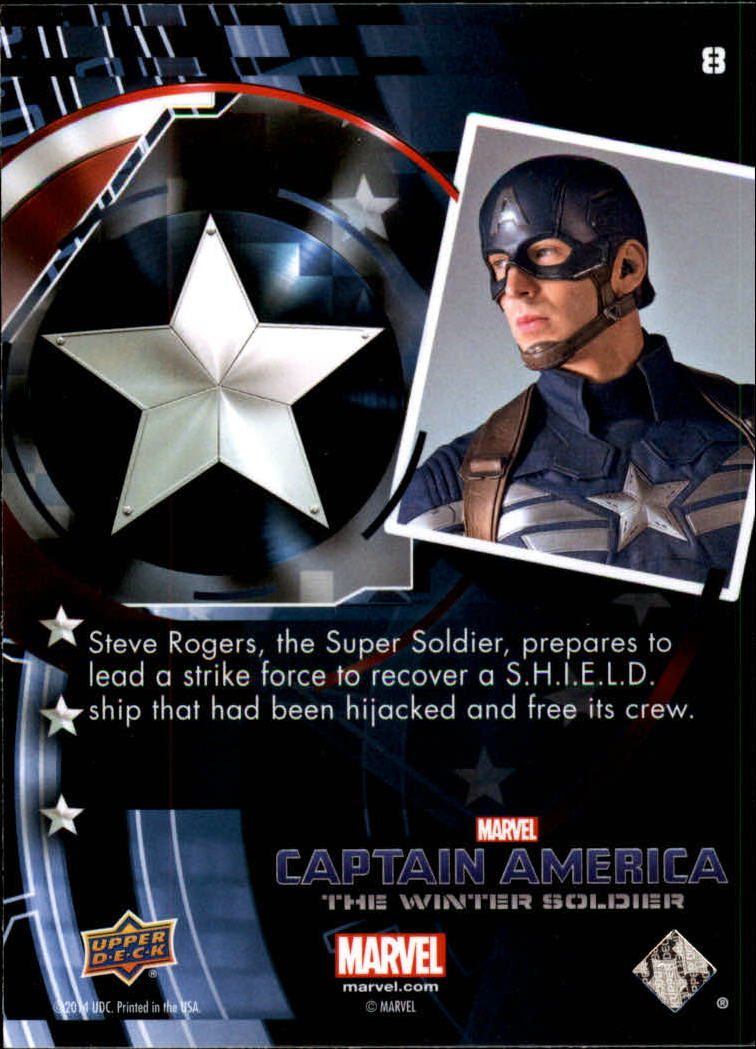 2014 Captain America The Winter Soldier #8 Steve Rogers, the Super Soldier, prepares to lead back image