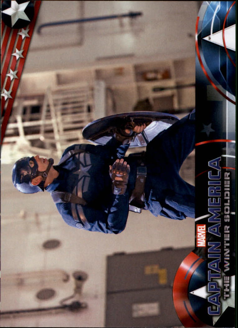 2014 Captain America The Winter Soldier #14 Captain America prepares to battle with whatever s