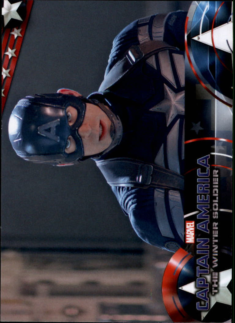 2014 Captain America The Winter Soldier #15 Captain America summons all of his concentration a