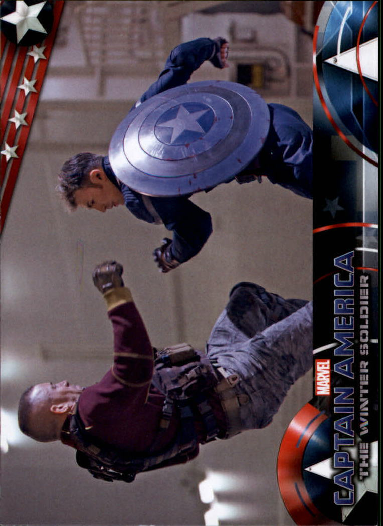 2014 Captain America The Winter Soldier #17 Captain America battles Batroc, who is the leader