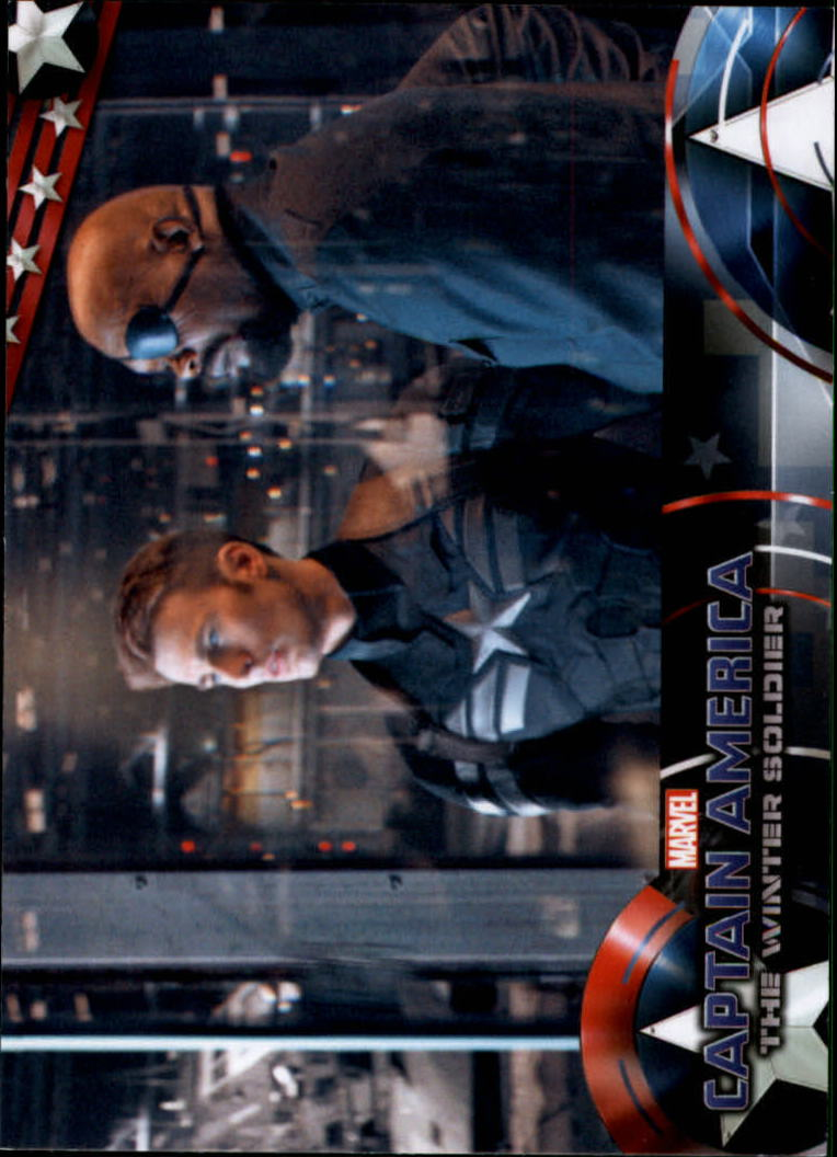 2014 Captain America The Winter Soldier #23 S.H.I.E.L.D. Director Nick Fury shows Steve Rogers