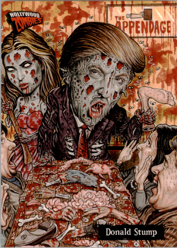 2007 Hollywood Zombies #35 Donald Stump