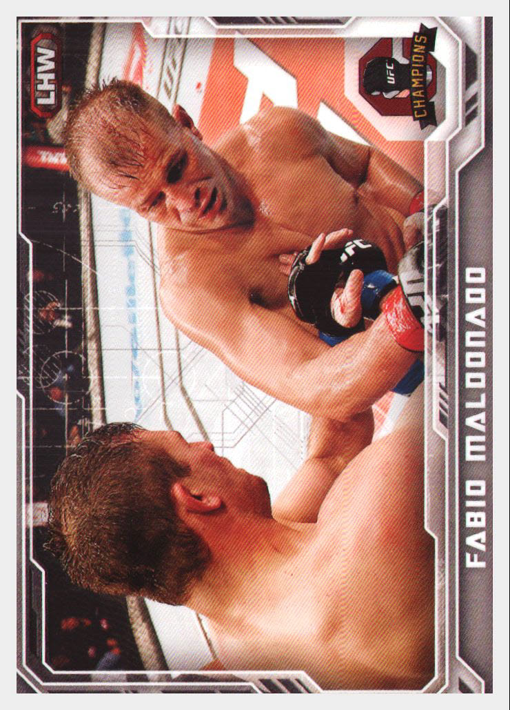 2014 Topps UFC Champions #62 Fabio Maldonado