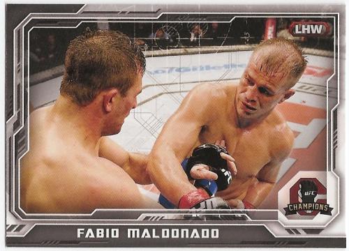 2014 Topps UFC Champions Silver #62 Fabio Maldonado
