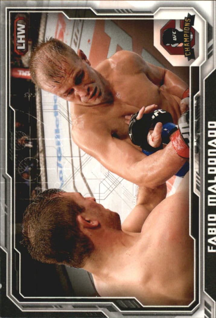 2014 Topps UFC Champions Black #62 Fabio Maldonado