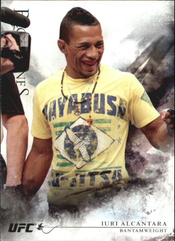 2014 Topps UFC Bloodlines #1 Iuri Alcantara