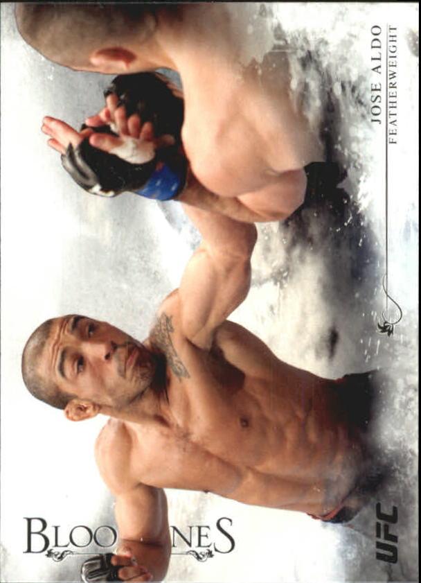 2014 Topps UFC Bloodlines #2 Jose Aldo