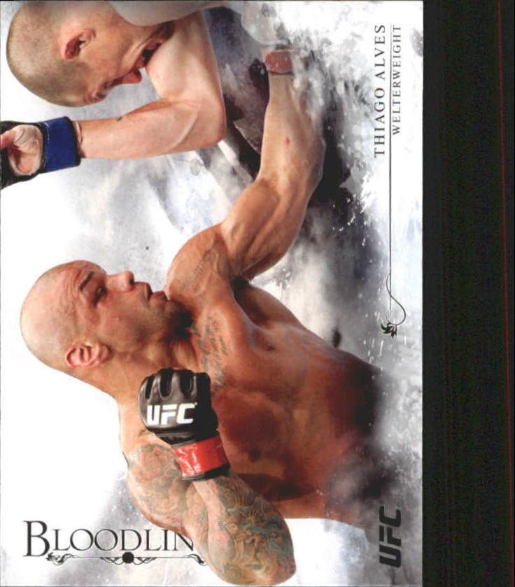 2014 Topps UFC Bloodlines #4 Thiago Alves