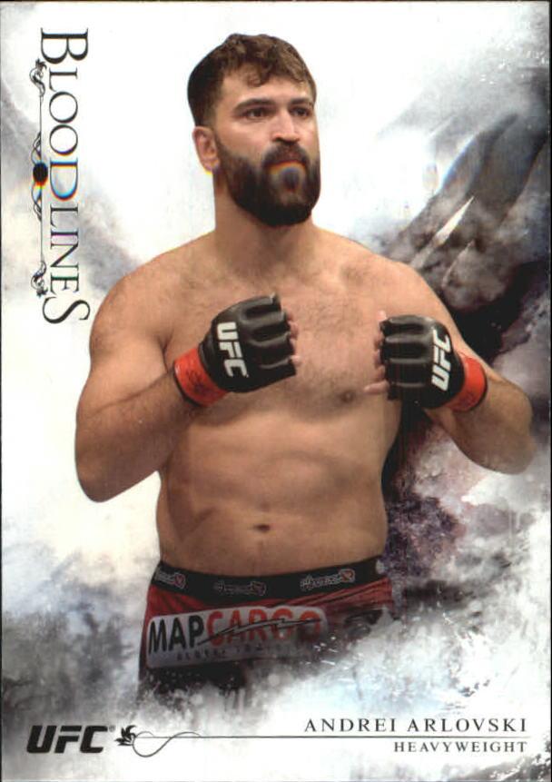 2014 Topps UFC Bloodlines #7 Andrei Arlovski
