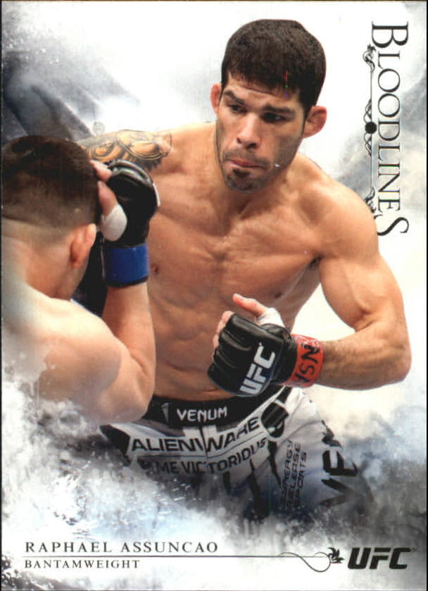2014 Topps UFC Bloodlines #8 Raphael Assuncao