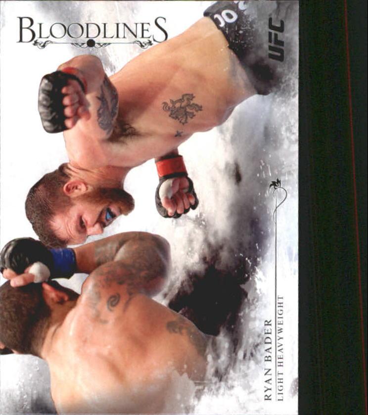 2014 Topps UFC Bloodlines #9 Ryan Bader