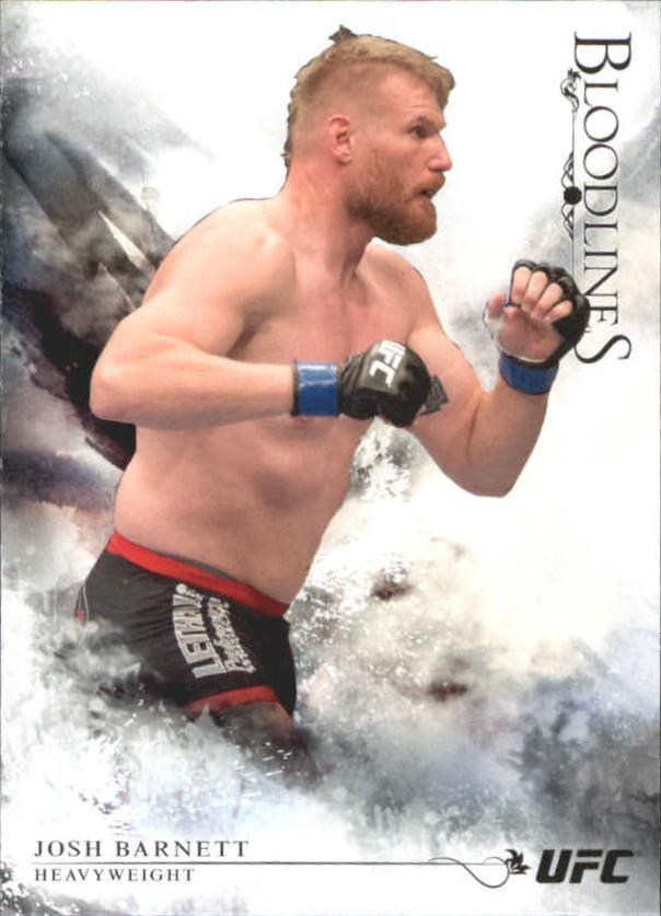2014 Topps UFC Bloodlines #13 Josh Barnett