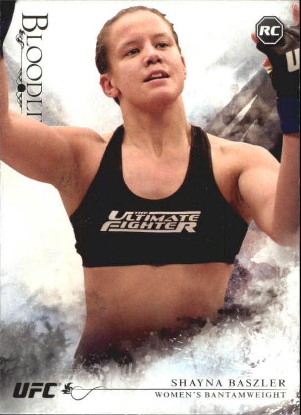 2014 Topps UFC Bloodlines #14 Shayna Baszler