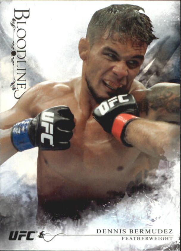 2014 Topps UFC Bloodlines #17 Dennis Bermudez