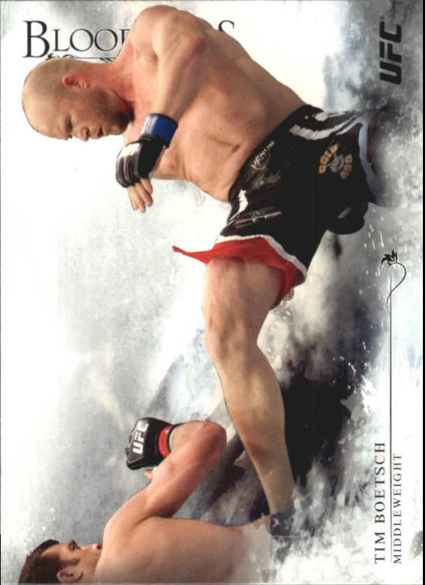 2014 Topps UFC Bloodlines #19 Tim Boetsch