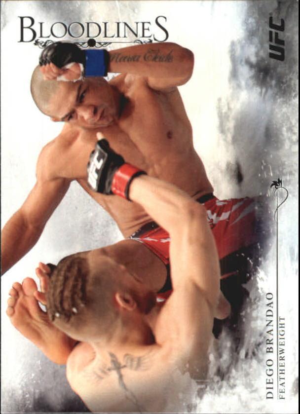 2014 Topps UFC Bloodlines #20 Diego Brandao