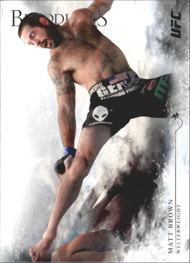 2014 Topps UFC Bloodlines #21 Matt Brown
