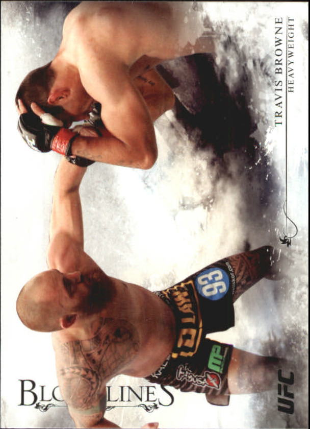 2014 Topps UFC Bloodlines #22 Travis Browne
