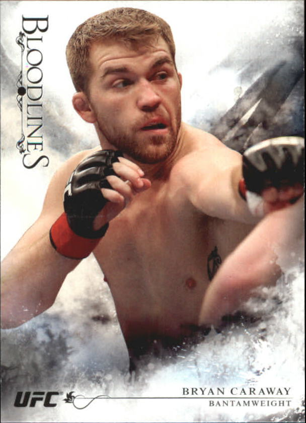 2014 Topps UFC Bloodlines #23 Bryan Caraway