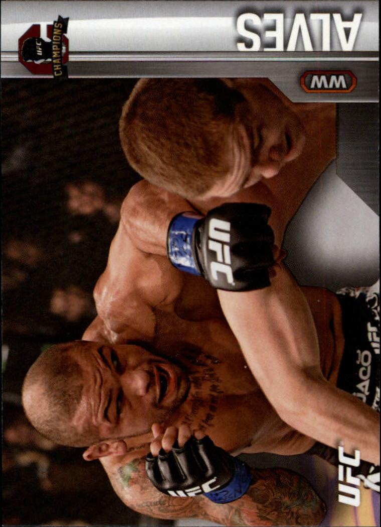 2015 Topps UFC Champions #2 Thiago Alves