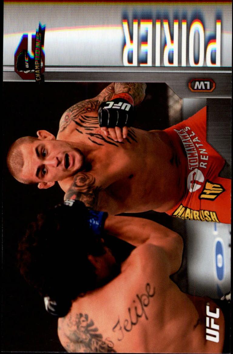 2015 Topps UFC Champions #4 Dustin Poirier