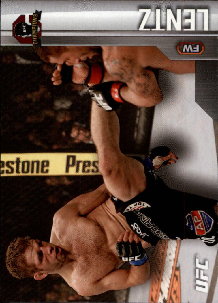 2015 Topps UFC Champions #6 Nik Lentz