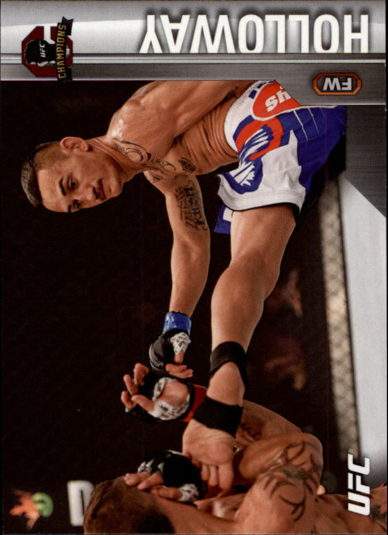 2015 Topps UFC Champions #10 Max Holloway