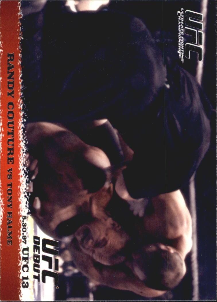 2009 Topps UFC Round 1 #4 Randy Couture/Tony Halme