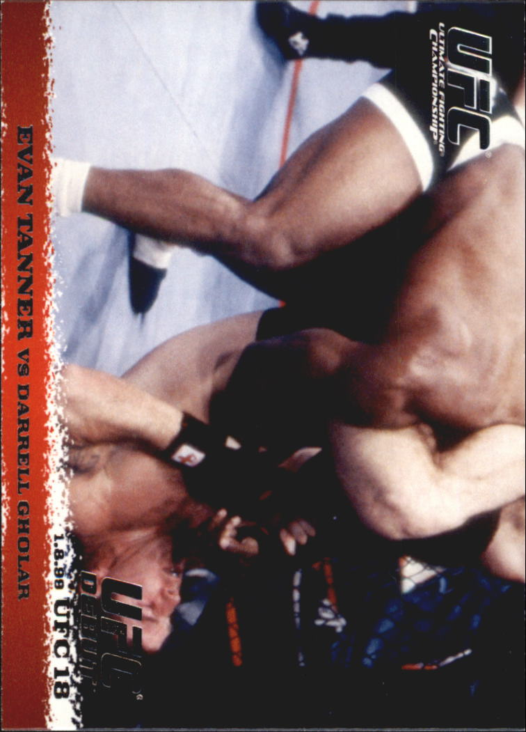2009 Topps UFC Round 1 #7 Evan Tanner/Darrell Gholar