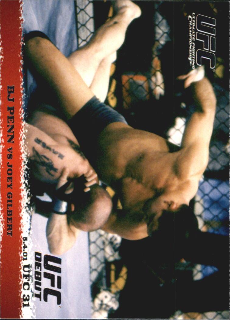2009 Topps UFC Round 1 #10 BJ Penn/Joey Gilbert