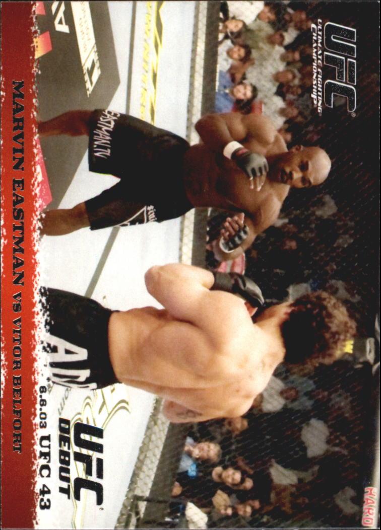 2009 Topps UFC Round 1 #15 Marvin Eastman/Vitor Belfort