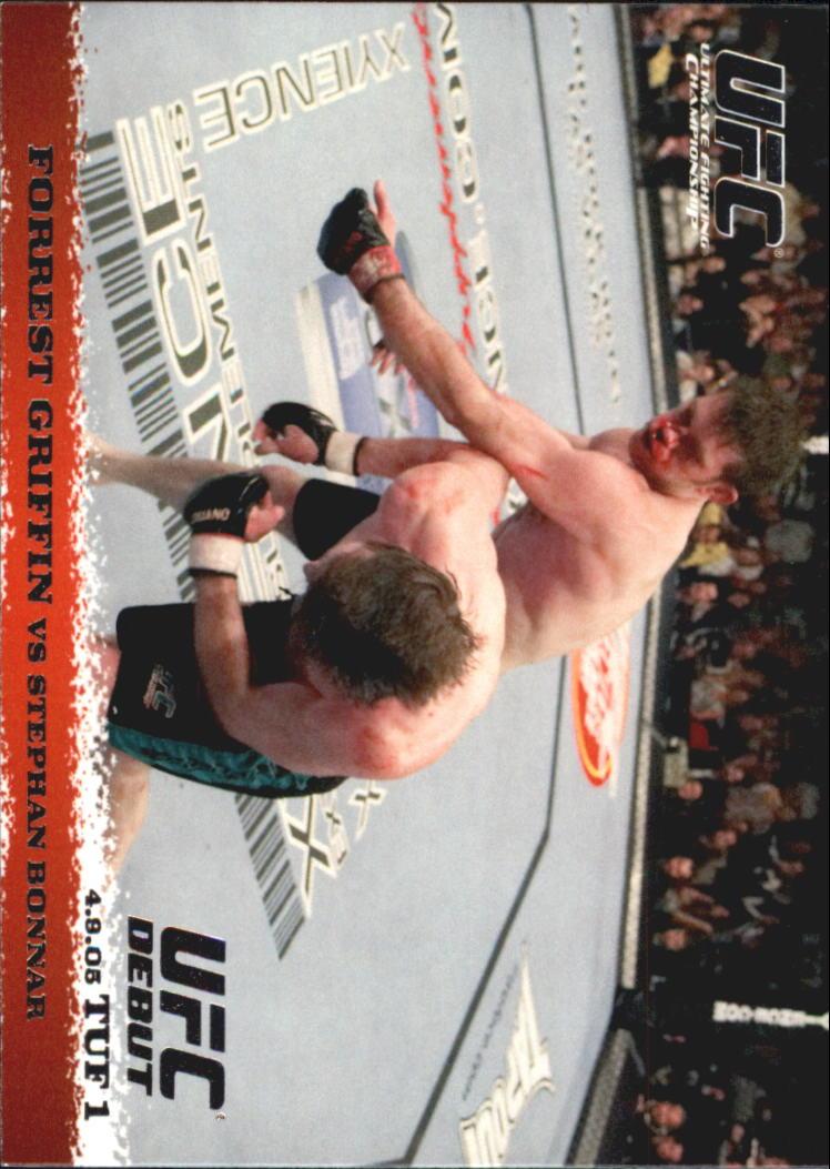 2009 Topps UFC Round 1 #19 Forrest Griffin/Stephan Bonnar
