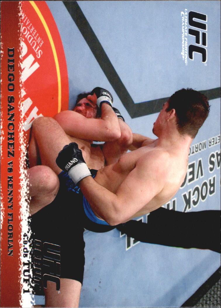 2009 Topps UFC Round 1 #21 Diego Sanchez/Kenny Florian