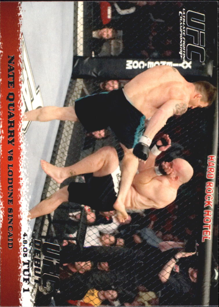 2009 Topps UFC Round 1 #22 Nate Quarry/Lodune Sincaid