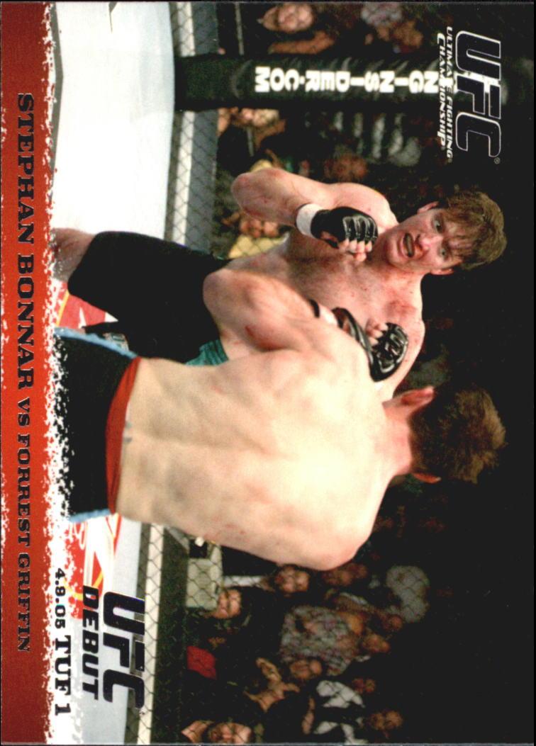2009 Topps UFC Round 1 #25 Stephan Bonnar/Forrest Griffin