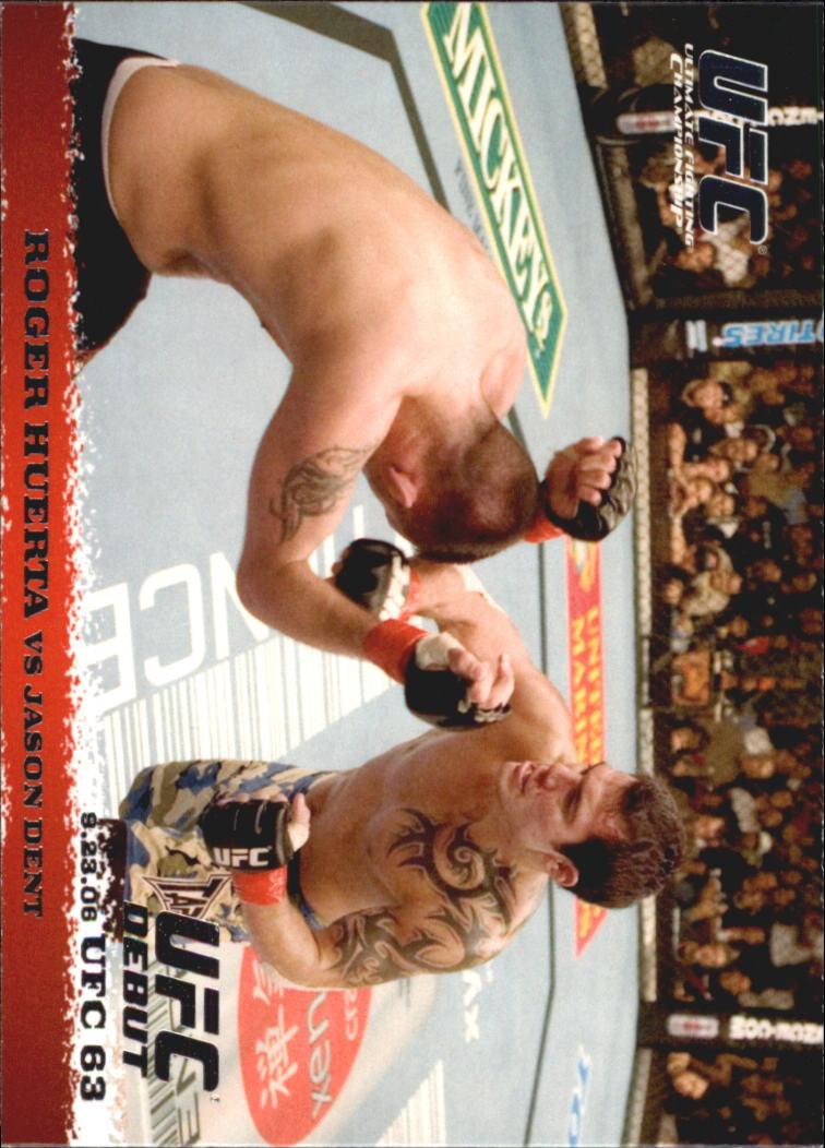 2009 Topps UFC Round 1 #51 Roger Huerta/Jason Dent