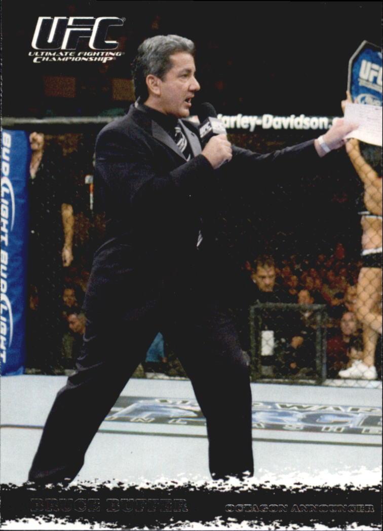 2009 Topps UFC Round 1 #99 Bruce Buffer