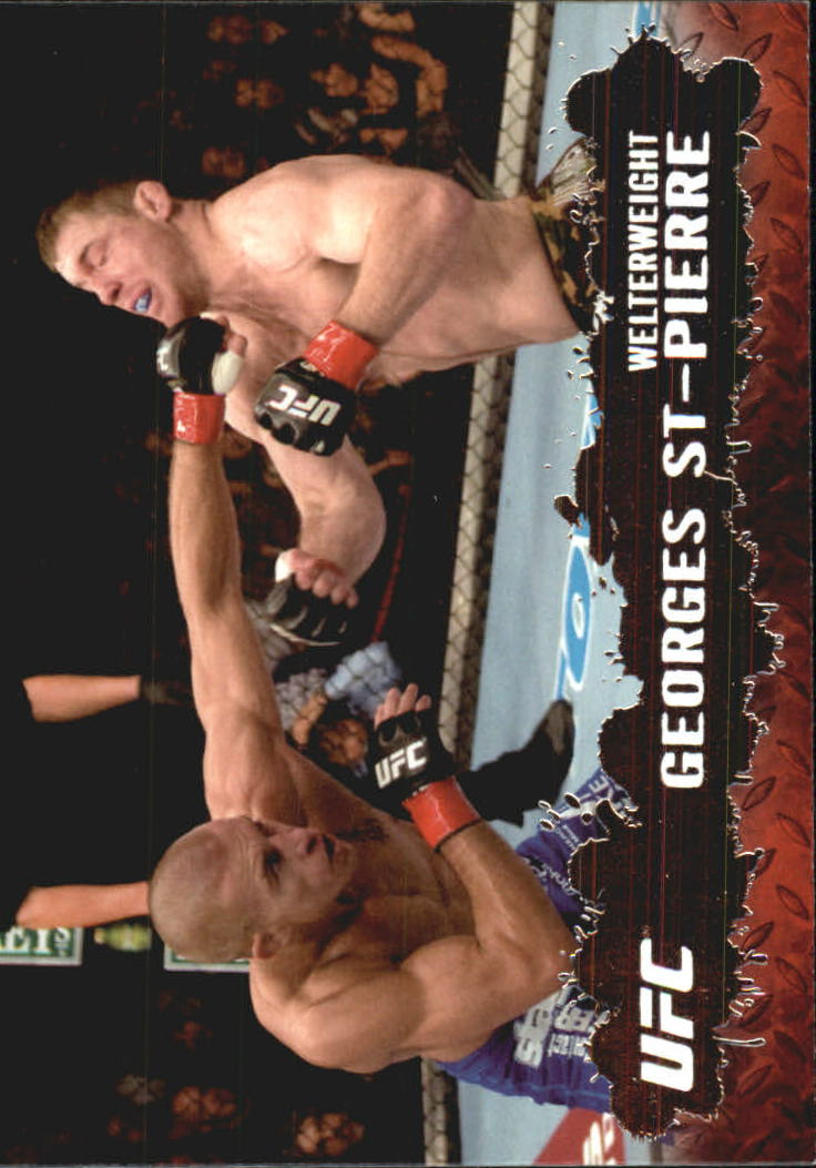 2009 Topps UFC #100 Georges St-Pierre