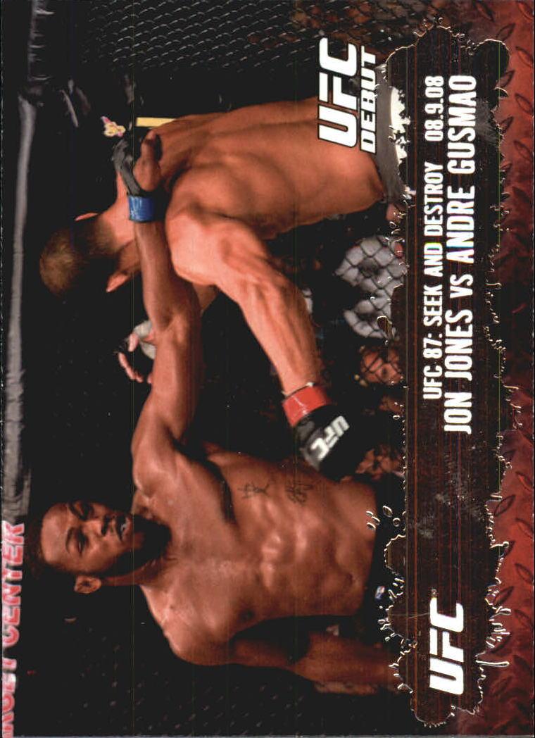 2009 Topps UFC #101 Jon Jones/Andre Gusmao